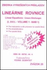 Lineárne rovnice I.diel
