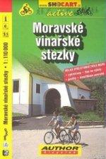 Moravské vinařské stezky 1:110 000
