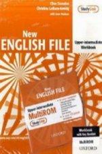 New English File Upper-Intermediate: Workbook with MultiROM Pack