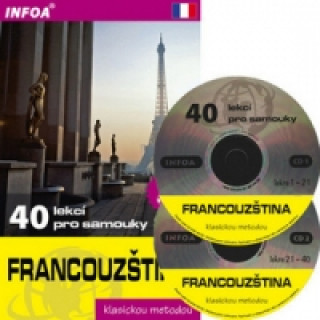 Francouzština 40 lekcí pro samouky s 2CD