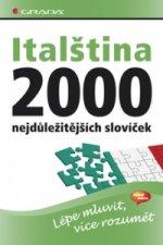 Italština 2000 nejdůležitějších slovíček