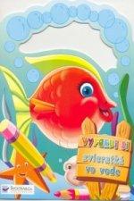 Vyfarbi si zvieratká vo vode