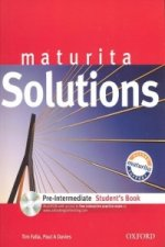 Maturita Solutions pre-intermediate student't book + CD CZedition