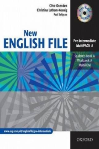 New English File Pre-intermediate Multipack A