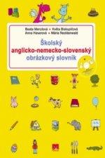 Školský anglicko-nemecko-slovenský obrázkový slovník