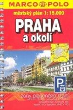 Praha + okolí  1:15.000 městský plán
