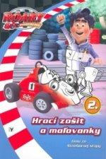 Roary Hrací zošit a maľovánky 2.