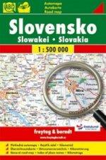Slovensko Slowakei Slovakia 1:500 000