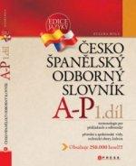Česko-španělský odborný slovník 1. díl