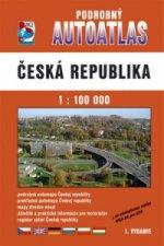 Podrobný autoatlas Česká republika 1 : 100 000