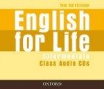 English for Life Intermediate Class Audio CDs