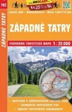 Západné Tatry 1:25 000