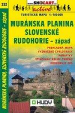 Muránska planina, Slovenské Rudohorie-západ