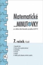 Matematické minutovky 7. ročník / 2. díl