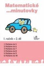 Matematické minutovky 1. ročník / 2. díl