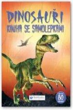 Dinosauři Kniha se samolepkami