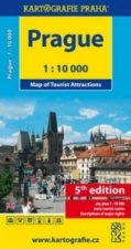 Mapa Prague