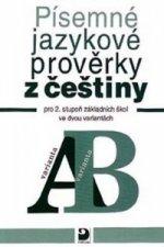 Písemné jazykové prověrky z češtiny