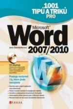 1001 tipů a triků pro Microsoft Word 2007/2010 + CD ROM