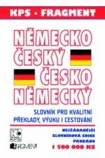 Německo-český česko-německý slovník, gramatika, fráze