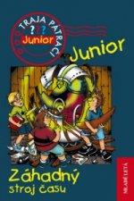 Záhadný stroj času Traja pátrači Junior