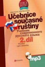Učebnice současné ruštiny 2. díl + mp3