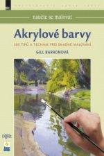 Naučte se malovat Akrylové barvy