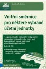 Vnitřní směrnice pro některé vybrané účetní jednotky + CD