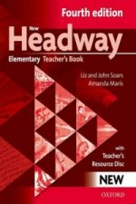 New Headway Fourth Edition Elementary Teacher´s Book with resource disc