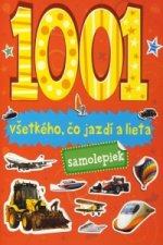 1001 samolepiek všetkého, čo jazdí a lieta