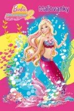 Barbie Príbeh morskej panny 2 Maľovanky