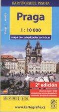Praha mapa turistických zajímavostí