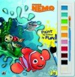 Hledá se Nemo omalovánka s vodovkami