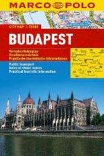 Budapešť - lamino MD 1:15 000
