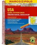 USA, Alaska, Southern Canada 1:4M/1:800 000 MD