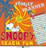 Plánovací Snoopy Family Planner - nástěnný kalendář
