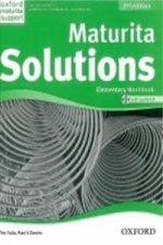 Maturita Solutions Elementary  Workbook with Audio CD PACK Czech Edition