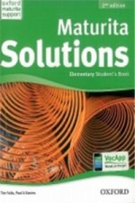 Maturita Solutions 2nd Edition Elementary Student's Book Czech Edition