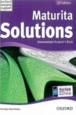 Maturita Solutions Intermediate Student's Book Czech Edition