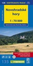 Novohradské hory 1: 70 000