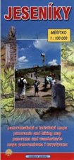Jeseníky panoramatická a turistická mapa