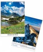 Vysoké Tatry 2013 - nástenný kalendár