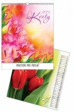 Kvety 2013 - nástenný kalendár