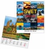 Svet 2013 - nástenný kalendár