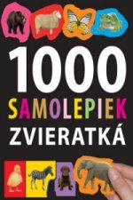 1000 samolepiek zvieratká
