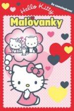 Hello Kitty Maľovanky so samolepkami