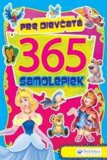 365 samolepiek pre diev�at�