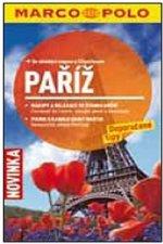 Paříž cestovní průvodce s mapou