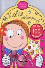 Kniha maľovaniek Cukrová víla Kamilka