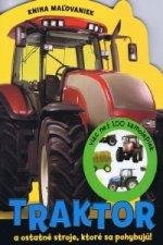 Traktor a ostatn� stroje, ktor� sa pohybuj�!